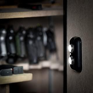 ILLUMISAFE LIGHTS Gun Safe Light with PIR Motion Sensor Light Activation - Two Adjustable and Rotatable LED Lens for Directional Lighting Inside Your Safe