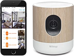 Withings/Nokia Home - Wi-Fi Security Camera with Air Quality Sensors
