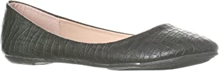 Riverberry Women's Aria Closed, Round Toe Ballet Flat Slip On Shoes