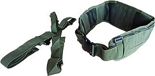 DLP Tactical MOLLE Battle Belt with Suspenders