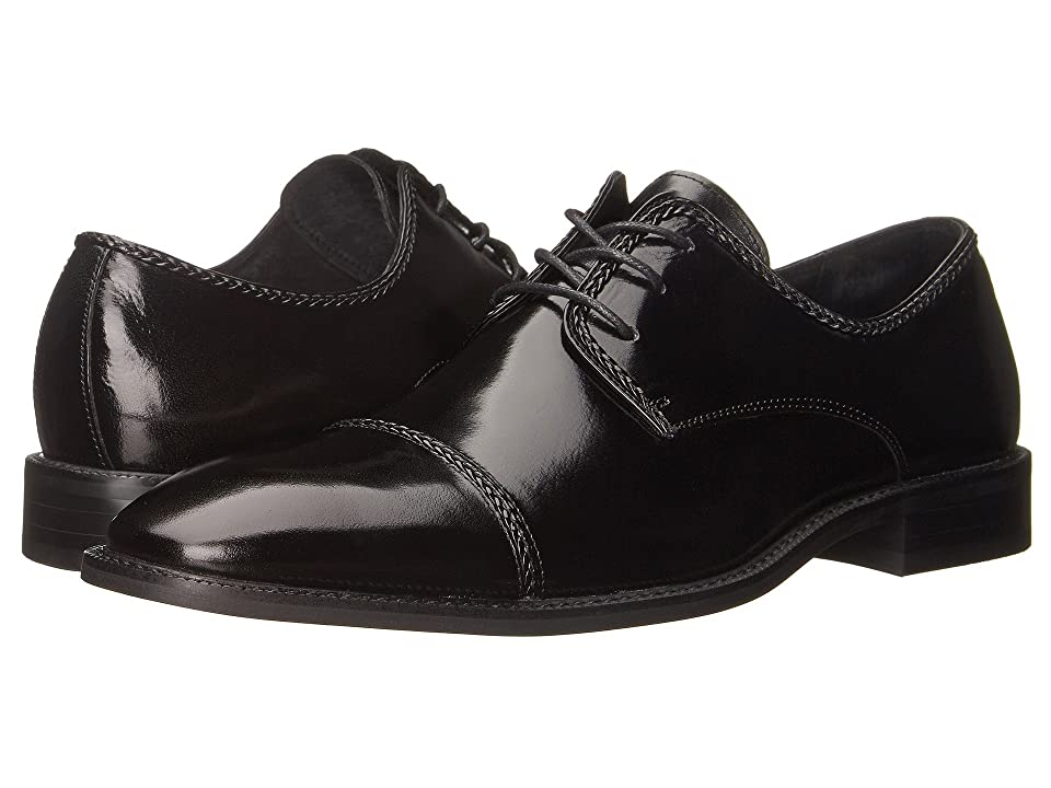 Stacy Adams Brayden Cap Toe Oxford (Black) Men