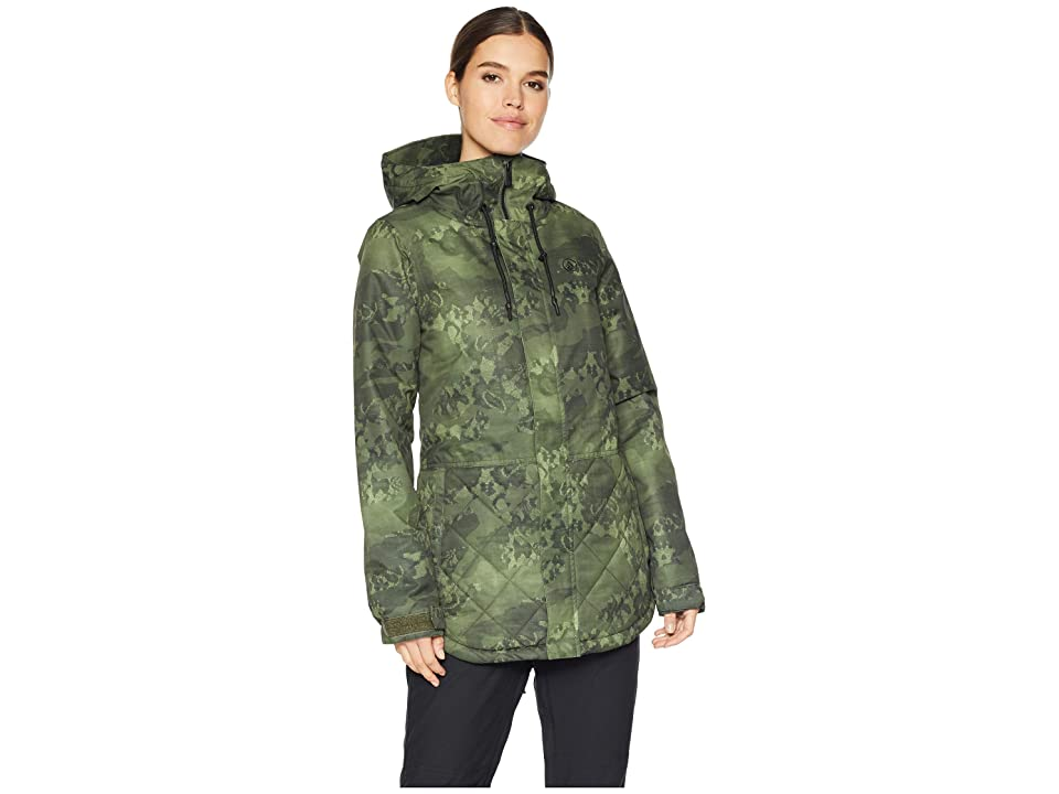 Volcom Snow Winrose Insulated Jacket (Camouflage) Women