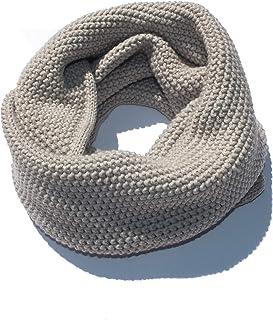 Neweave MILANO - Scaldacollo di maglia - Lana - MADE IN ITALY - Articolo Grana di riso