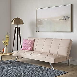 Wade Logan Boonton Twin Convertible Sofa (Pink)