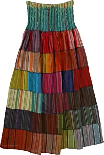Multicolor Bonanza Fiesta Skirt - L: 39