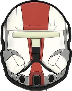 TACOPSGEAR BOSS Clone Brothers Wars Helmet Rubber Patch GID