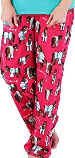 LazyOne Womens/Ladies Dont Do Mornings Horse PJ Trousers