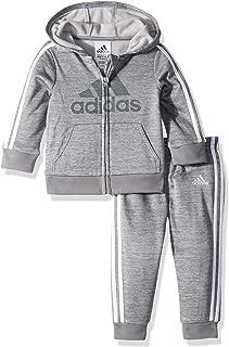 adidas Baby Boys' Zip Hoodie and Pant Set