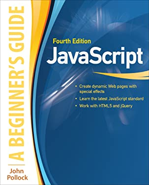 JavaScript: A Beginner's Guide, Fourth Edition (INKLING CH)