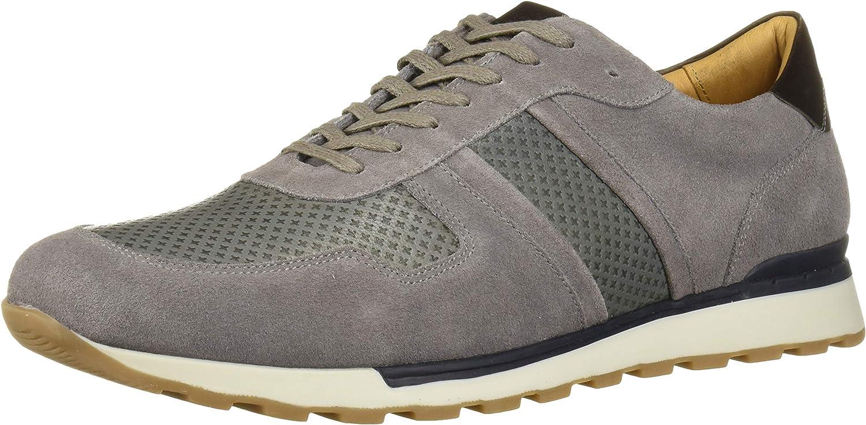 MARC JOSEPH NEW YORK Men's Leather Made in Brazil Luxury Fashion Trainer Sneaker