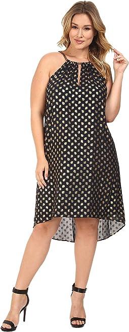Plus Size Bergalia Foil Dress