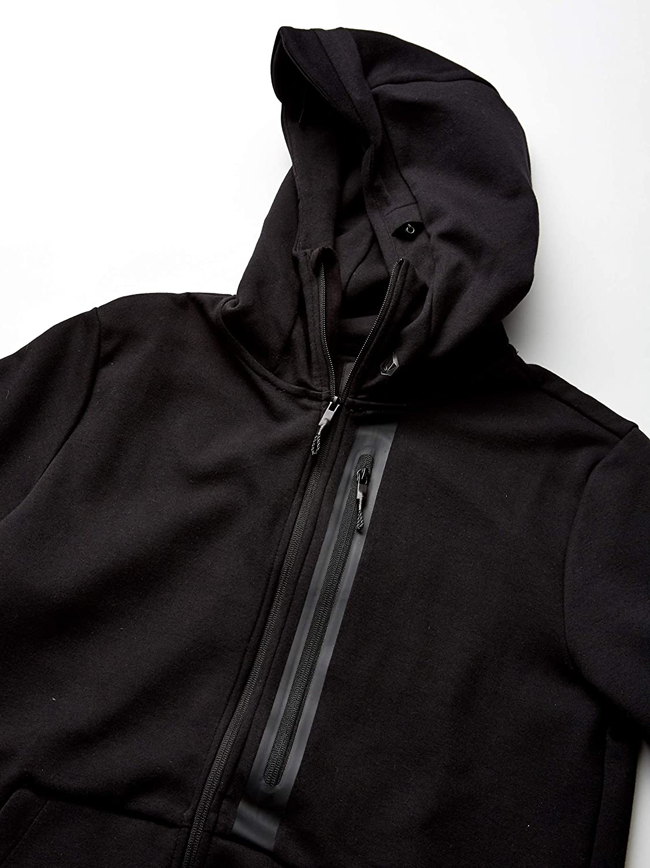 Volcom Mens Stone Guide Hooded Zip Up Sweatshirt