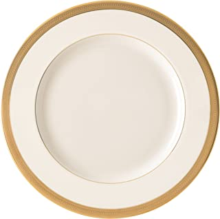 Lenox Lowell Gold Banded Ivory China Dinner Plate