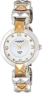 Akribos XXIV Women's Empire Analogue Display Quartz Watch with Alloy Bracelet