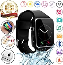2018 Newest Bluetooth Smart Watch Touchscreen with Camera,Unlocked Watch Phone with Sim..