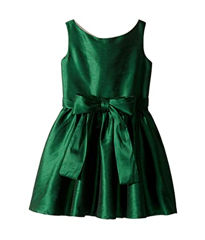 fiveloaves twofish Holiday Lola Party Dress (Toddler/Little Kids) (Green) Girl