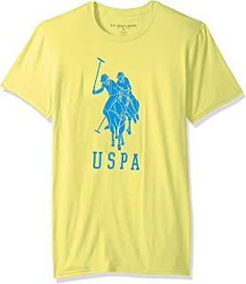 U.S. Polo Assn. Mens 11-4494-04 Short Sleeve Crew Neck Fashion T-Shirt Short Sleeve T-Shirt