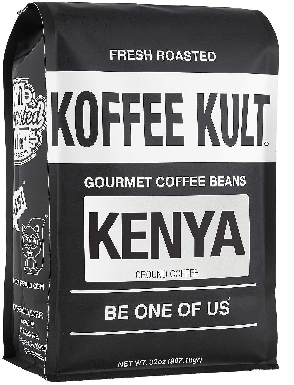 Koffee Very popular! Kult Limited - Kenya AAA Coffee 100 Ground Directly managed store Roast Medium