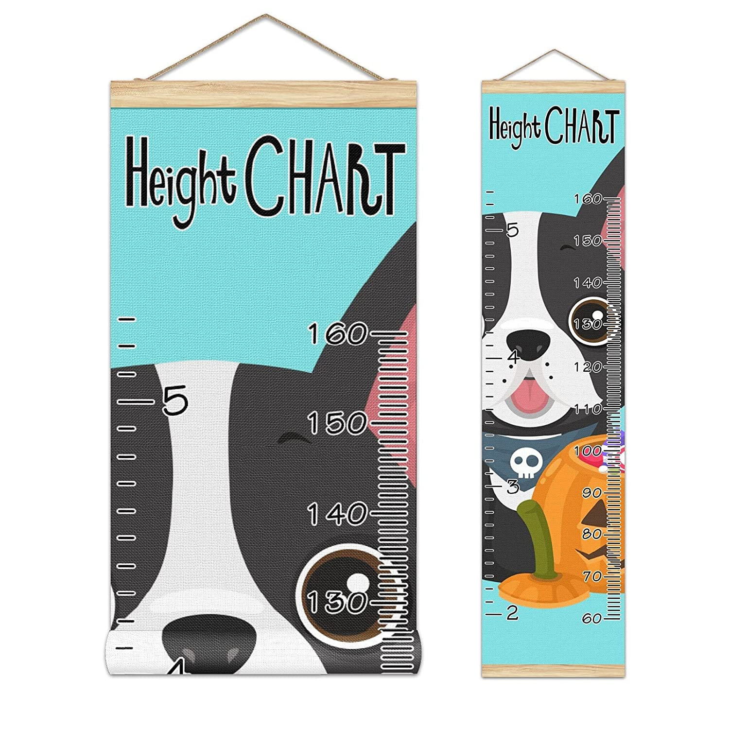 Growth Chart Free shipping New Kid's Height Puppy Houston Mall with Pumpkin Light