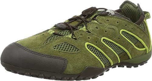 Geox Jungen J Home B Flache Hausschuhe: : Schuhe