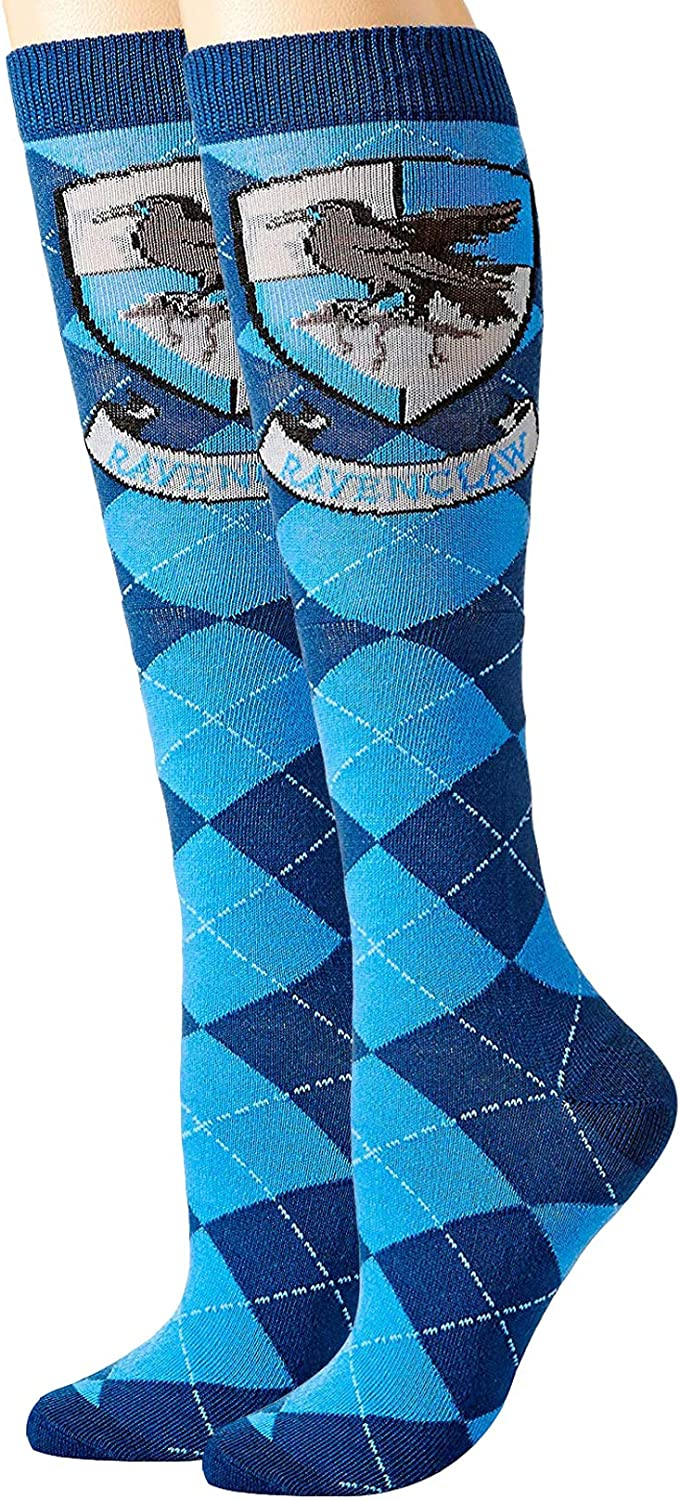 Hyp Harry Potter Ravenclaw Argyle Socks In a popularity High Juniors Purchase Knee