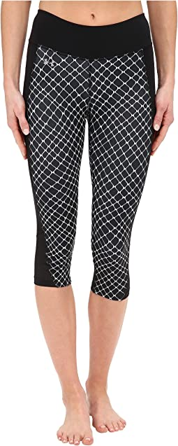 Fly By Printed Run Capris