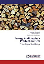 Energy Auditing in a Production Firm: A Case Study of Bread Baking.