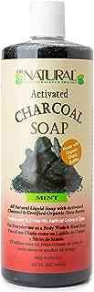 Dr.Natural Activated Charcoal Liquid Soap-32oz. Mint
