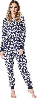 Pijama Entero Una Pieza Ropa de Cama Mujer MS10-175