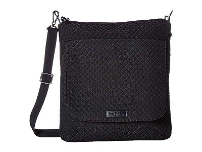 Vera Bradley Carson Mailbag (Classic Black) Bags