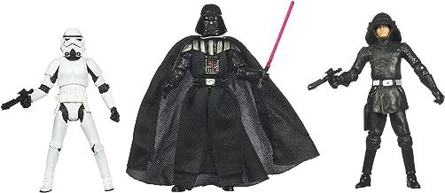 Kenner Star Wars A New Hope Special Exclusive Action Figure 3Pack Villain Set Stormtrooper, Darth Vader, Death Squad Commander