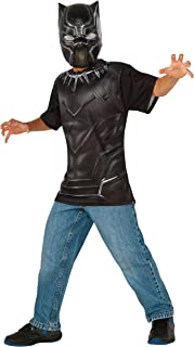 Rubie's Costume Captain America: Civil War Black Panther Child Top and Mask, Medium