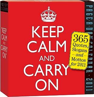 Keep Calm and Carry On Calendar 2011