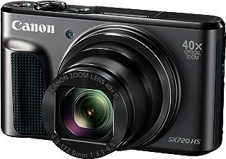 Canon PowerShot SX720 HS - Cámara Digital compacta de 20.3 MP (Pantalla de 3 Zoom óptico 40x estabilizador Video Full HD WiFi) Negro