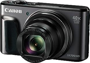 Canon PowerShot SX720 HS Digitalkamera (20,3 MP, 40-fach optischer Zoom, 80-fach ZoomPlus, 7,5cm (3 Zoll) Display, CMOS-Se...