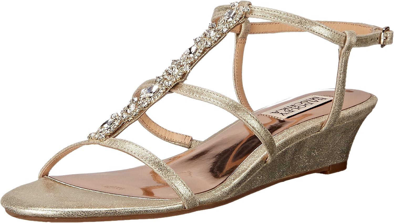 Badgley Mischka Womens Carley II Wedge Sandal