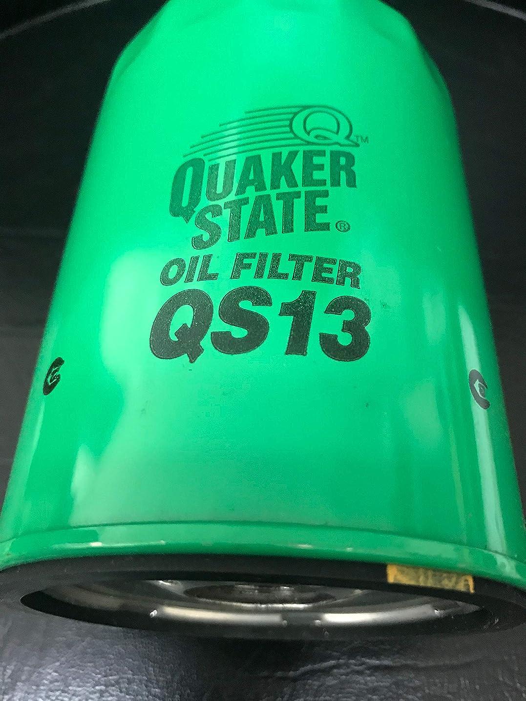 QUAKER STATE QS13 OIL FILTER(PACK OF 1) REPLACES # PF1218 L3510 PH1218 L30040 PH13 PH5 51061 M1-302 PG4631