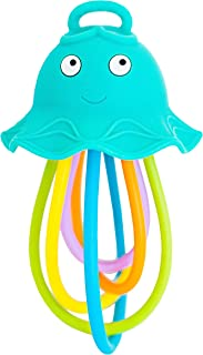 Baby Banana - Lil' Squish Jellyfish, Teether Sensory Rattle Newborn and Infant Toys to Chew