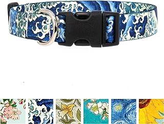 Buttonsmith Hokusai Waves Collar M Wide