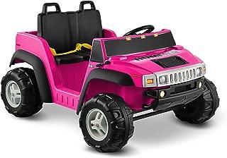 Kid Motorz Hummer H2 12V Two Seater, Pink