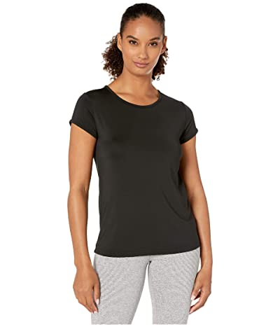 Jockey Active Flyte Performance Tee (Deep Black) Women