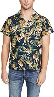 Naked & Famous Men's Aloha Shirt - Big Tropical