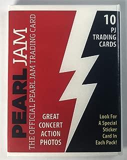Pearl Jam boston baseball card pack fenway park 2018 tour red sox pj new