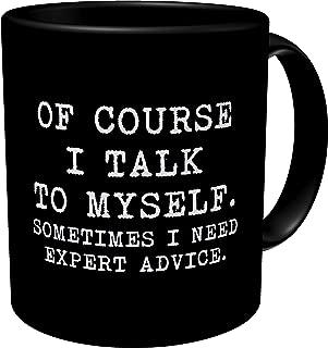 i do not spew profanities coffee mug