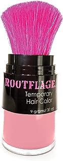 Temporary Hair Colour, Fun Coloured Hair Powder - Temporary Hair Dye, Root Concealer, Hair Texturizer, Kabuki Applicator w...