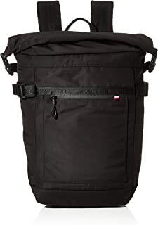 Tommy Hilfiger Urban Tommy Roll Backpack, Mochila para Hombre, Negro, OS