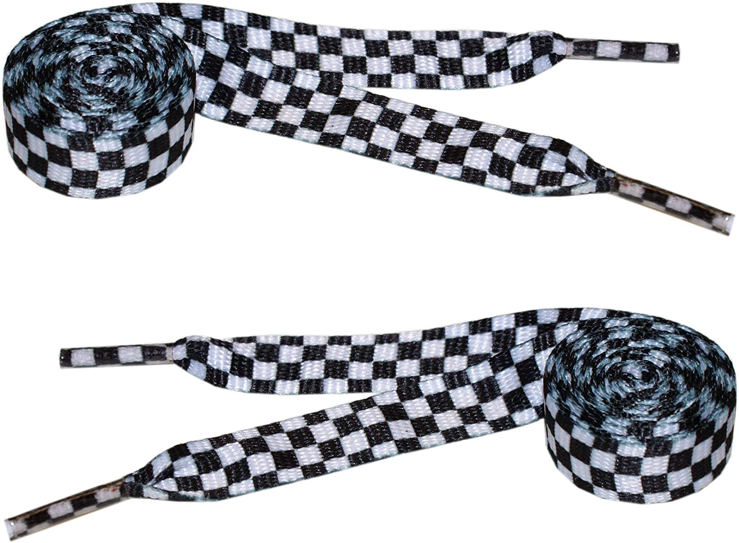 Designer Laces by mart King Shoelaces Flat Extra-Wide price - Skater Shoest