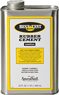 Best-Test Rubber Cement 32OZ Can