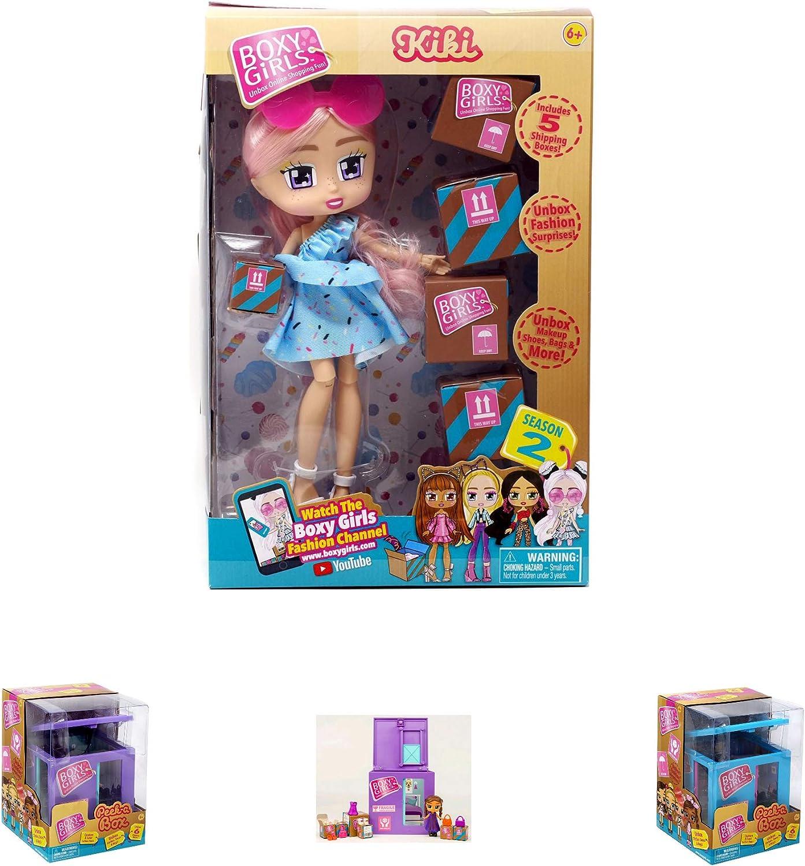 TLC Girls Play Kids Philadelphia Mall Fun Choice 1 Doll Boxy Kiki Season witrh 2