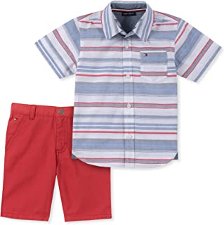 Boys' Toddler 2 Pieces Shirt Shorts Set